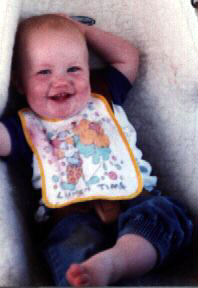 Jacob's brother Jonathan when aged about 1 year old.